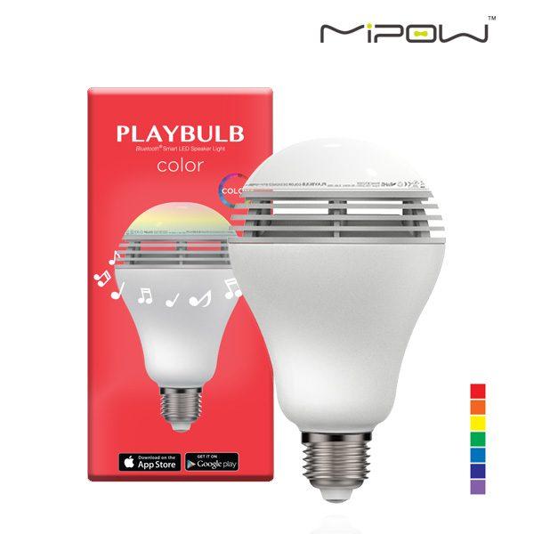 mipow playbulb color หลอดไฟลำโพงบลูทูธ เปลี่ยนสีได้