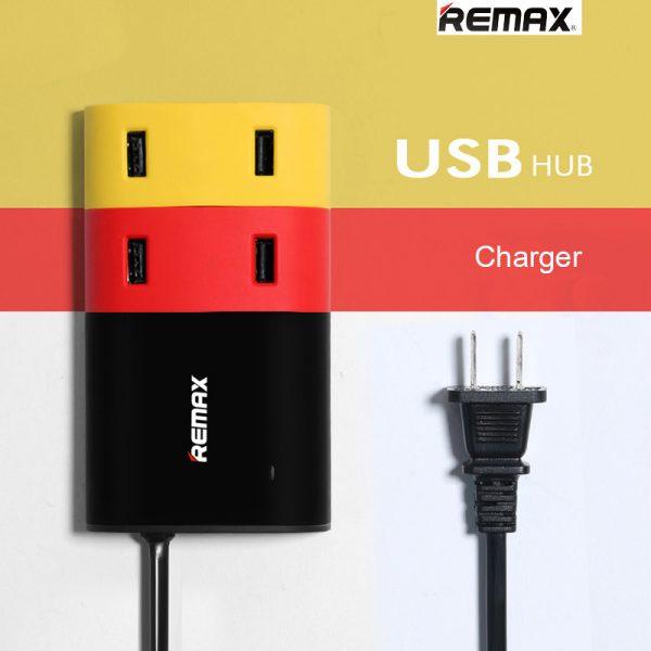 ปลั๊กชาร์จมือถือ remax usb hub
