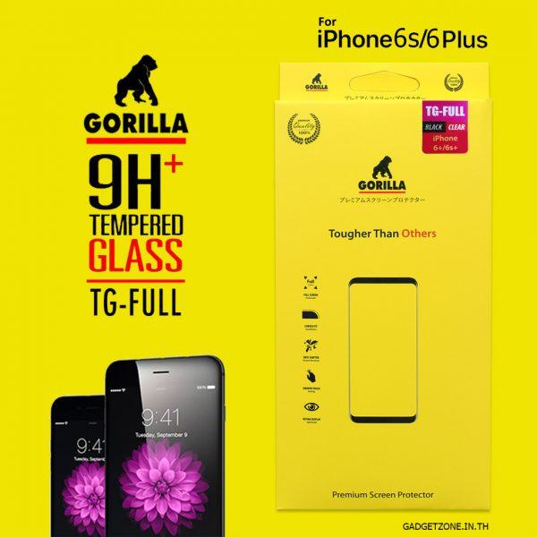 ฟิล์มกระจก iphone6s 6 gorilla tg full