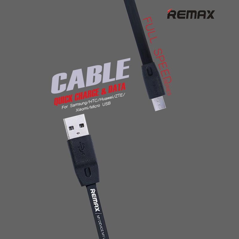 Remax Full Speed series Quick Charge Data สายชาร์จ Micro USB