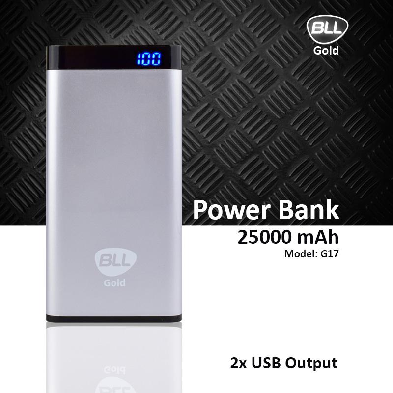 แบตสำรอง bll 25000 power bank g17