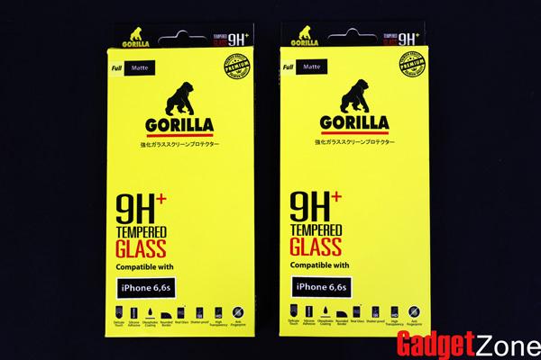 ฟิล์มกระจกด้าน iphone6 gorilla tg full