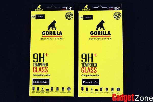 ฟิล์มกระจกด้าน iphone6 plus gorilla tg full