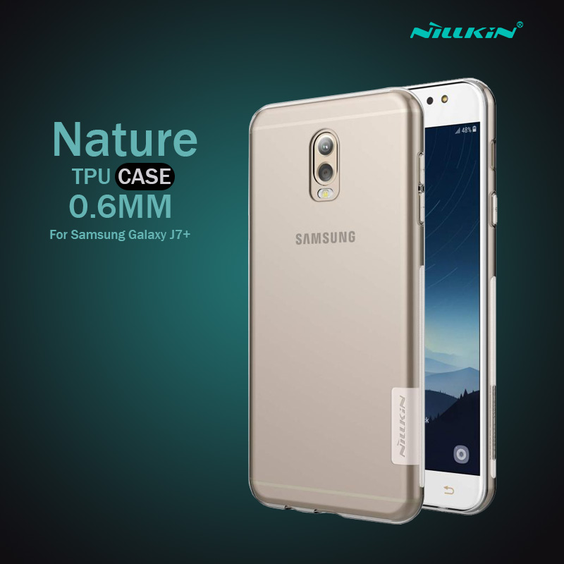 เคสใส j7+ nillkin nature tpu clear