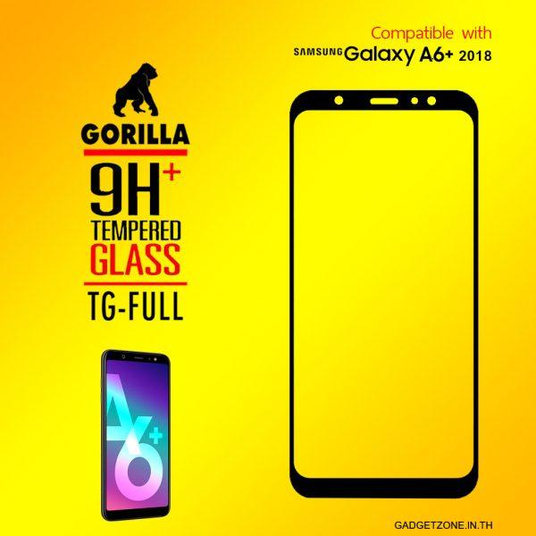 ฟิล์มกระจก a6+ 2018 gorilla tg full