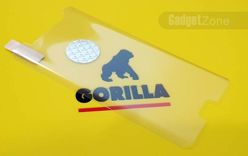 ฟิล์มกระจก note fe gorilla uv