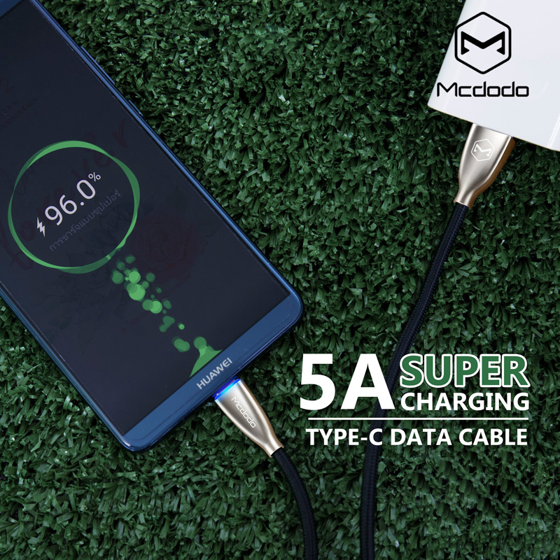 mcdodo super charge typec data cable