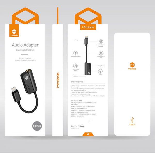 mcdodo audio adapter iphone