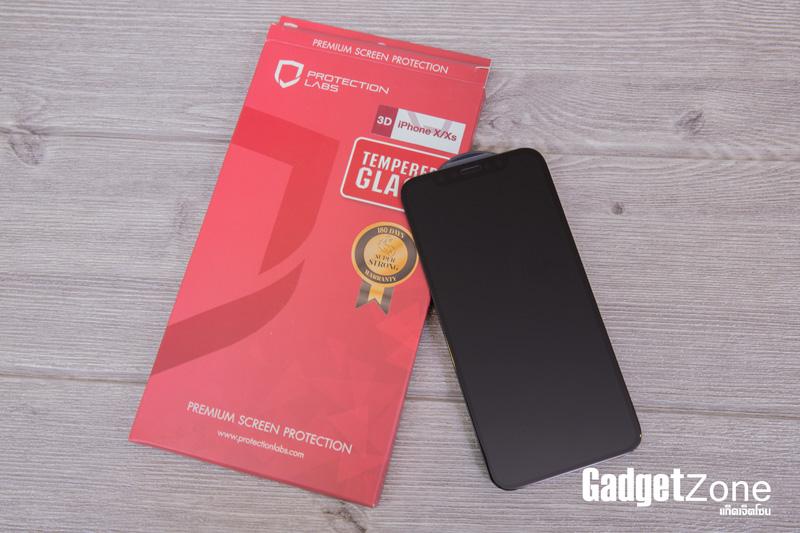 ฟิล์มกระจก iphone xs protectionlabs 3d full cover