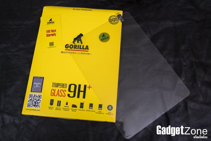 ฟิล์มกระจก ipad pro 11 gorilla tg fullscreen