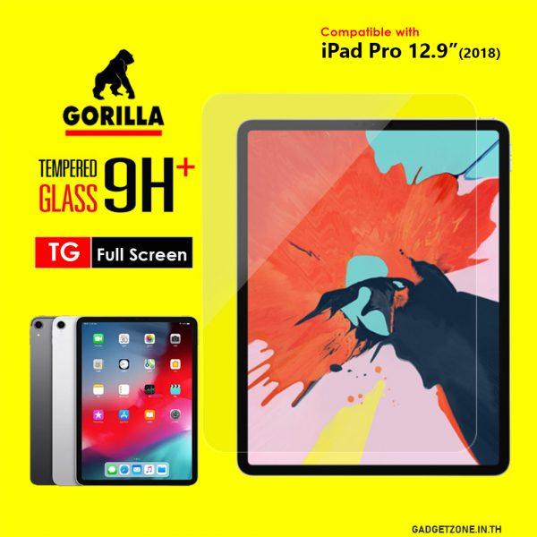 ฟิล์มกระจก ipad pro 12.9 gorilla tg fullscreen