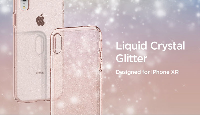 เคส iphone xr spigen liquid crystal glitter