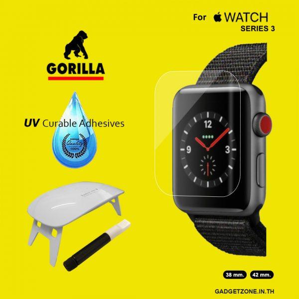 ฟิล์มกระจก apple watch gorilla uv