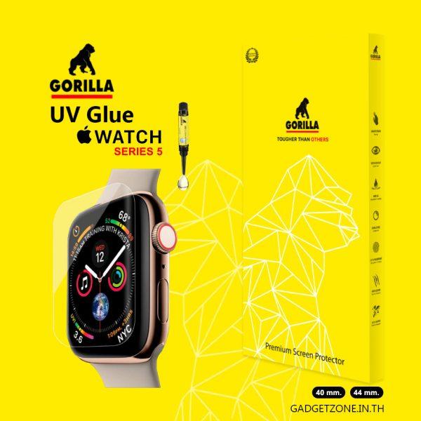ฟิล์มกระจก apple watch 5 gorilla uv