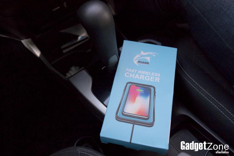 แท่นชาร์จไร้สาย shark fast wireless charge