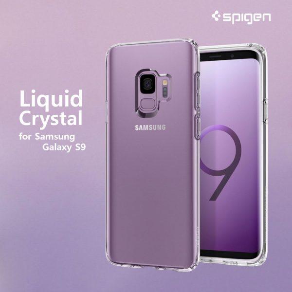 spigen liquid crystal clear s9