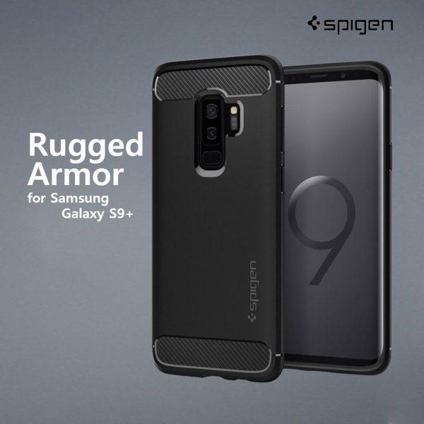 spigen rugged armor s9+