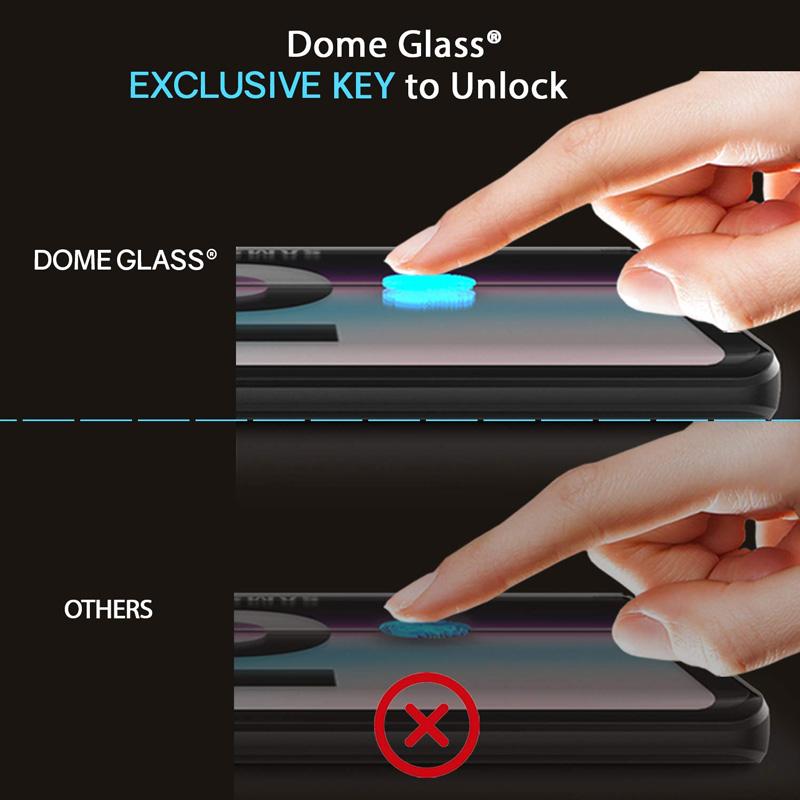 ฟิล์มกระจก dome glass s10+