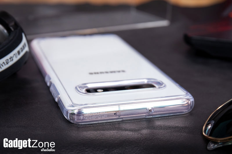 เคส s10+ spigen ultra hybrid crystal clear