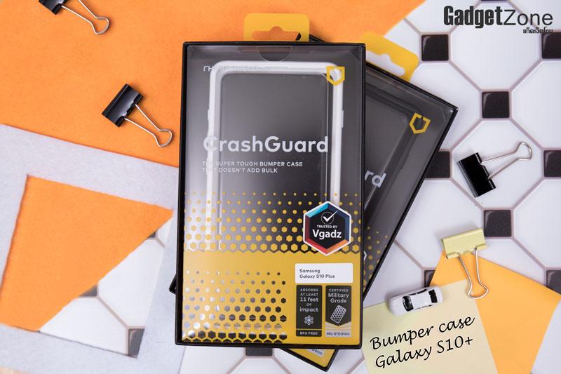 Rhinoshield CrashGuard bumper case s10+