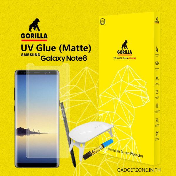 ฟิล์มกระจกด้าน note8 gorilla uv