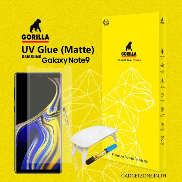 ฟิล์มกระจกด้าน note9 gorilla uv