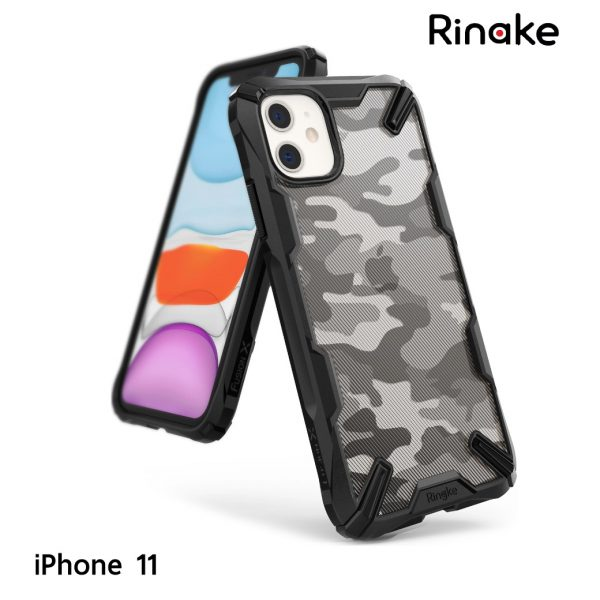เคส iphone 11 ringke fusion x camo black