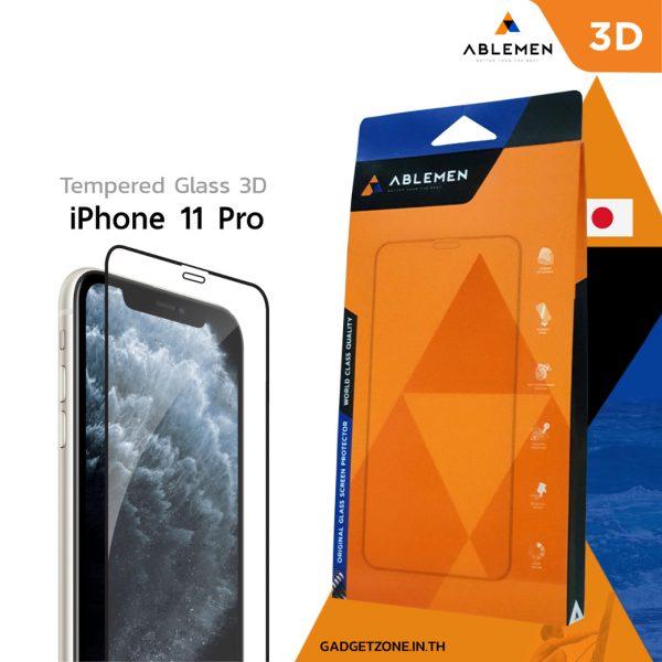 ฟิล์ม iPhone 11 pro Ablemen 3d