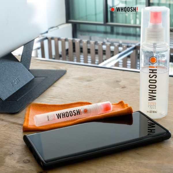Whoosh Screen Shine น้ำยาทำความสะอาด มือถือ แท็บเล็ต