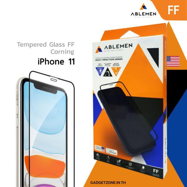 ฟิล์ม iphone 11 ablemen ff corning
