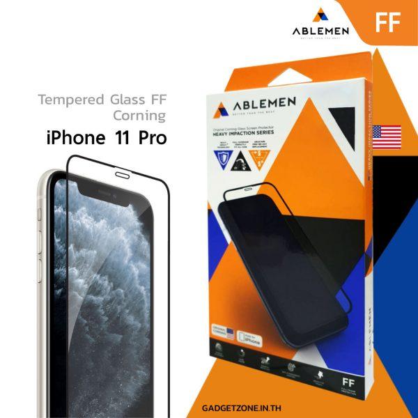ฟิล์ม iphone 11 pro ablemen ff corning