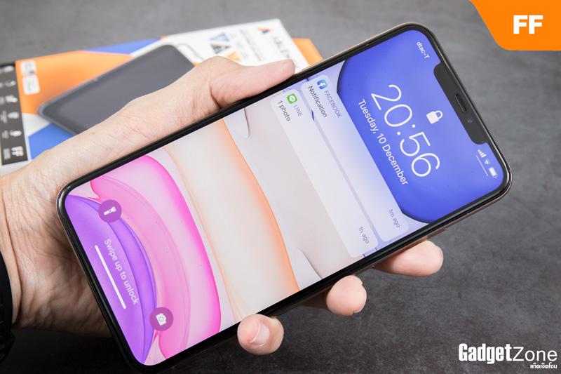 ฟิล์ม iphone 11 pro max ablemen ff corning