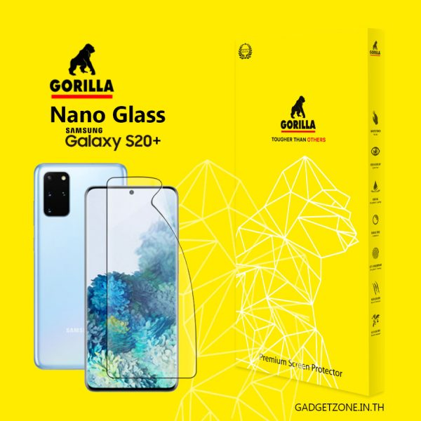 ฟิล์ม S20+ gorilla nano glass