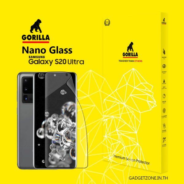 ฟิล์ม S20 ultra gorilla nano glass