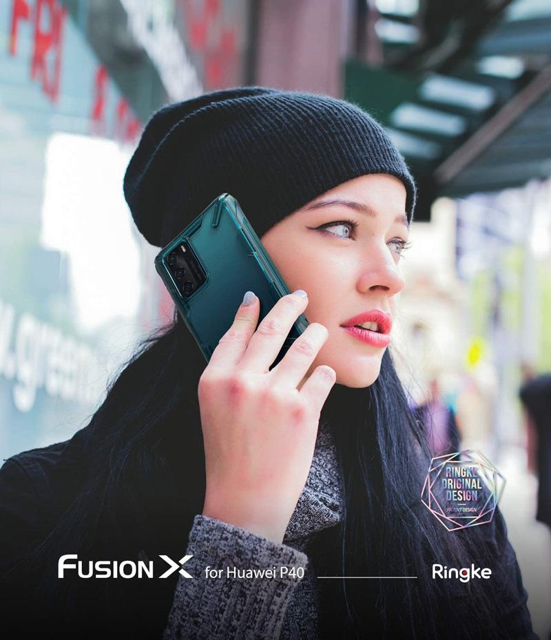เคส ringke fusion x p40 pro