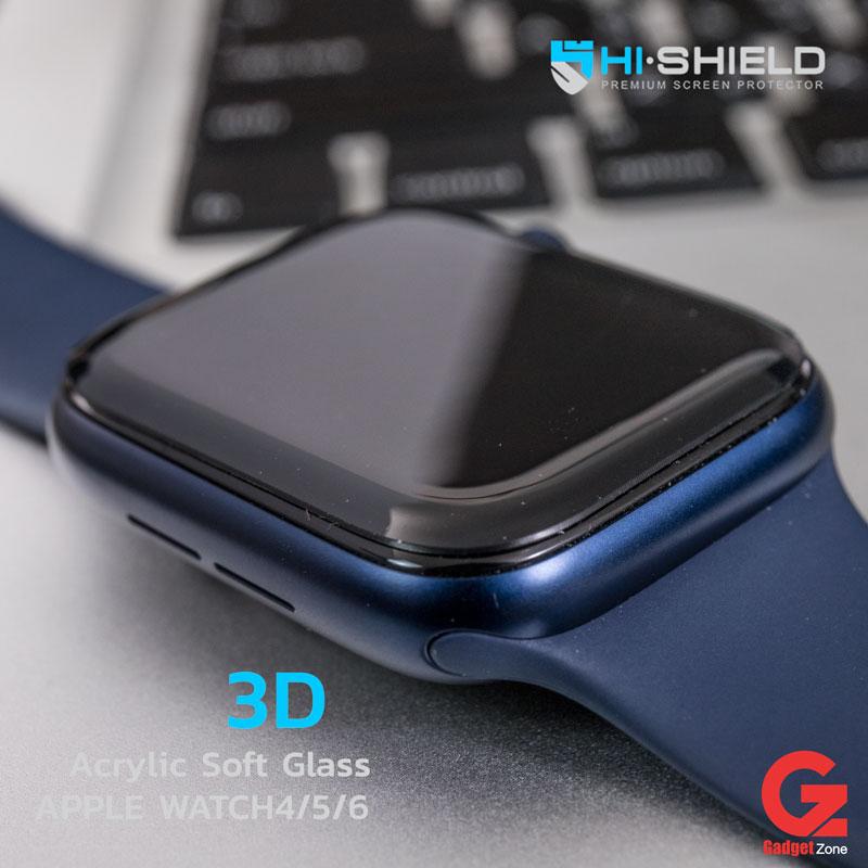 ฟิล์ม apple watch6 hishield acrylic soft glass
